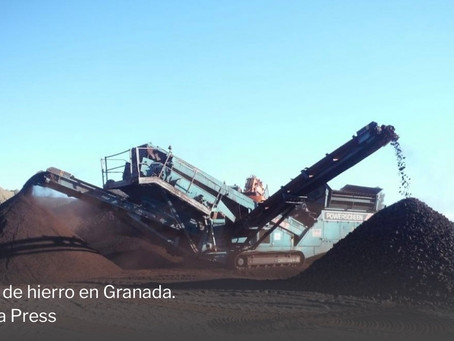 El boom del hierro acelera la reapertura de la mina de 1.000 millones en Murcia