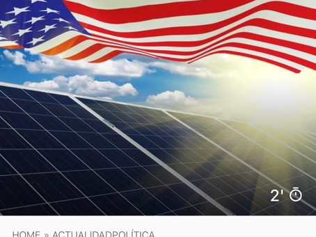 EEUU quiere reducir los costes de la energía solar en un 60% para 2030, a 3 centavos el kWh