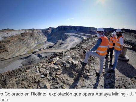 El Covid no frena a la minería andaluza