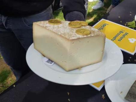 El mejor queso de Catalunya se hace en una mina.