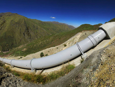 Hidroeléctrica para limpiar aguas de mina