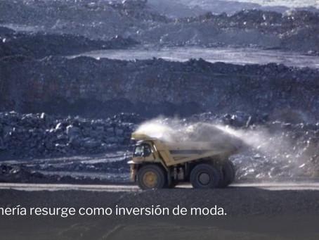 Las mineras se convierten en la joya de la corona en bolsa por la fiebre 'verde'