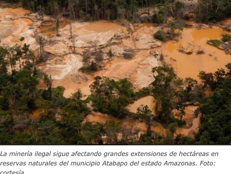 2.227 hectáreas están afectadas por minería ilegal en Atabapo