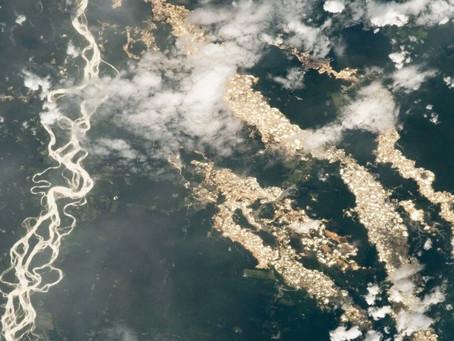 """NASA muestra los """"ríos de oro"""" en el Amazonas vistos desde el espacio: una impactante imagen de la m"""