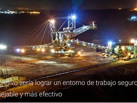 Implantación de tecnologías para mejorar la productividad y seguridad en las minas
