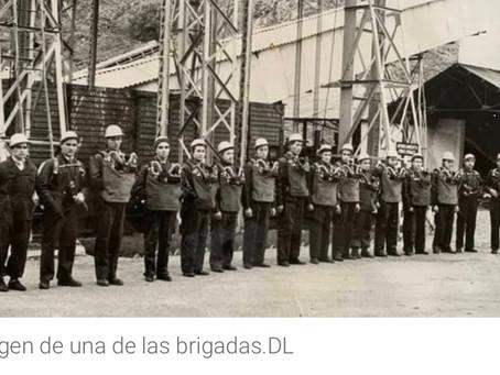 Tres brigadas de salvamento que cubrieron las minas de León y el Bierzo