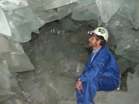 Abre al público la Geoda de Pulpí: la mina de los tesoros