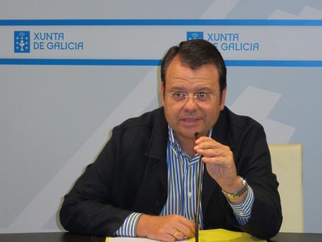 El imputado Bernardo Tahoces, director xeral de Enerxía e Minas de la Xunta de Galicia por el Gobier