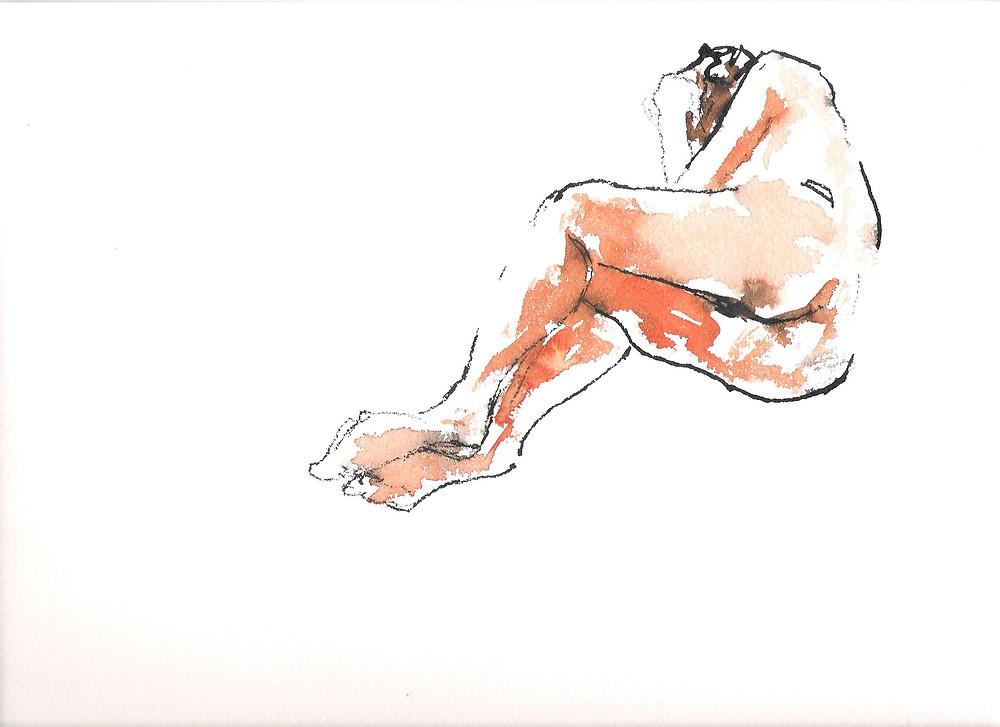 Um desenho de Karina