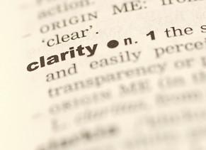 Sobre clareza e conteúdo