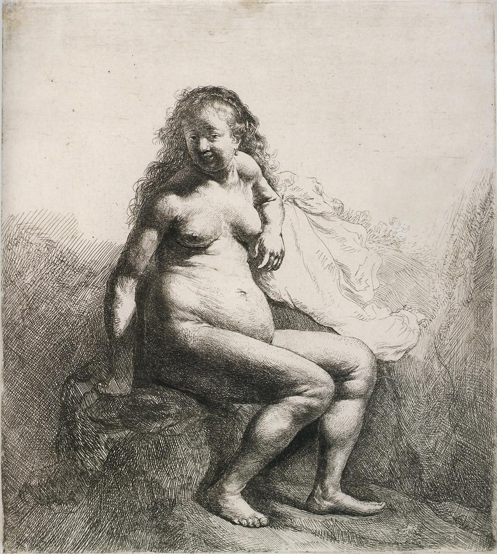 Desenho de Rembrandt