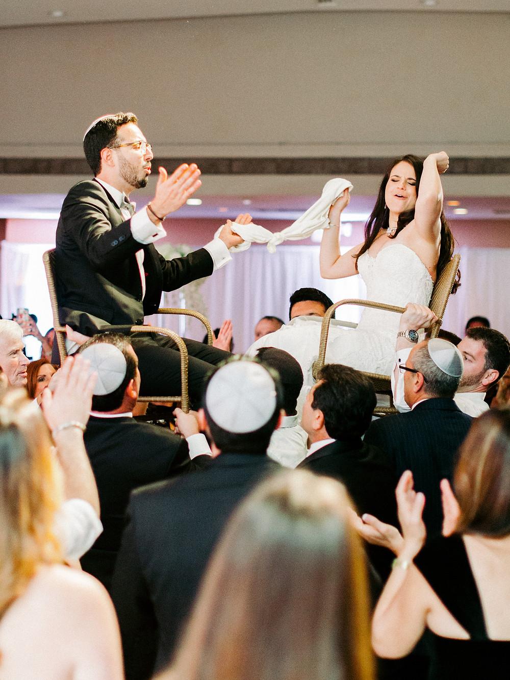 Arizona Biltmore Classic White Wedding, Reception, Hora