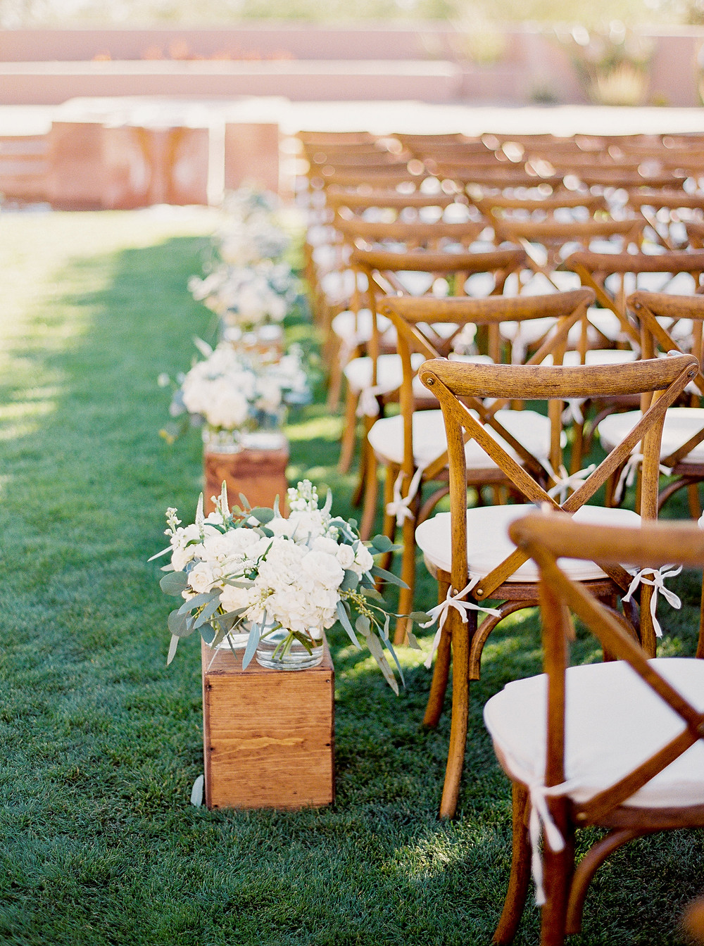 Four Seasons in Scottsdale Arizona Ceremony on Main Lawn
