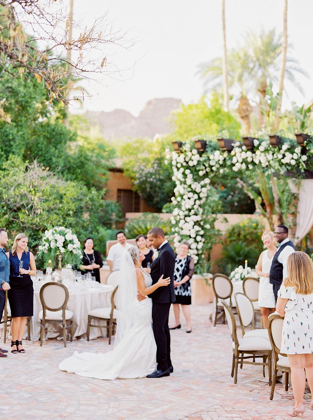 Royal Palms Wedding, Reception, First Dance