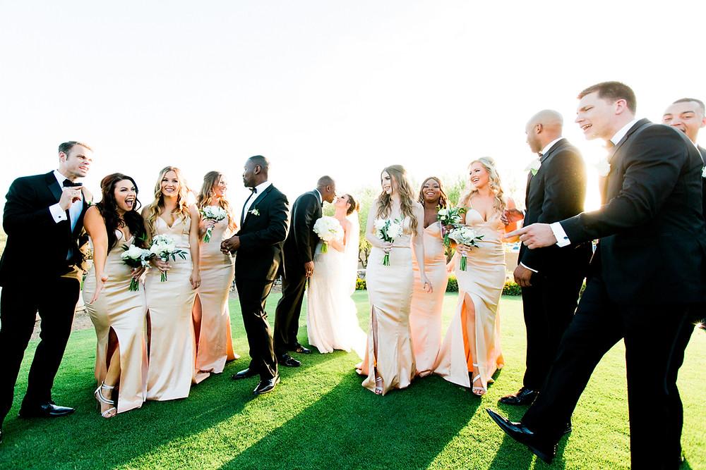 DC Ranch Wedding, Bridal Party Portraits