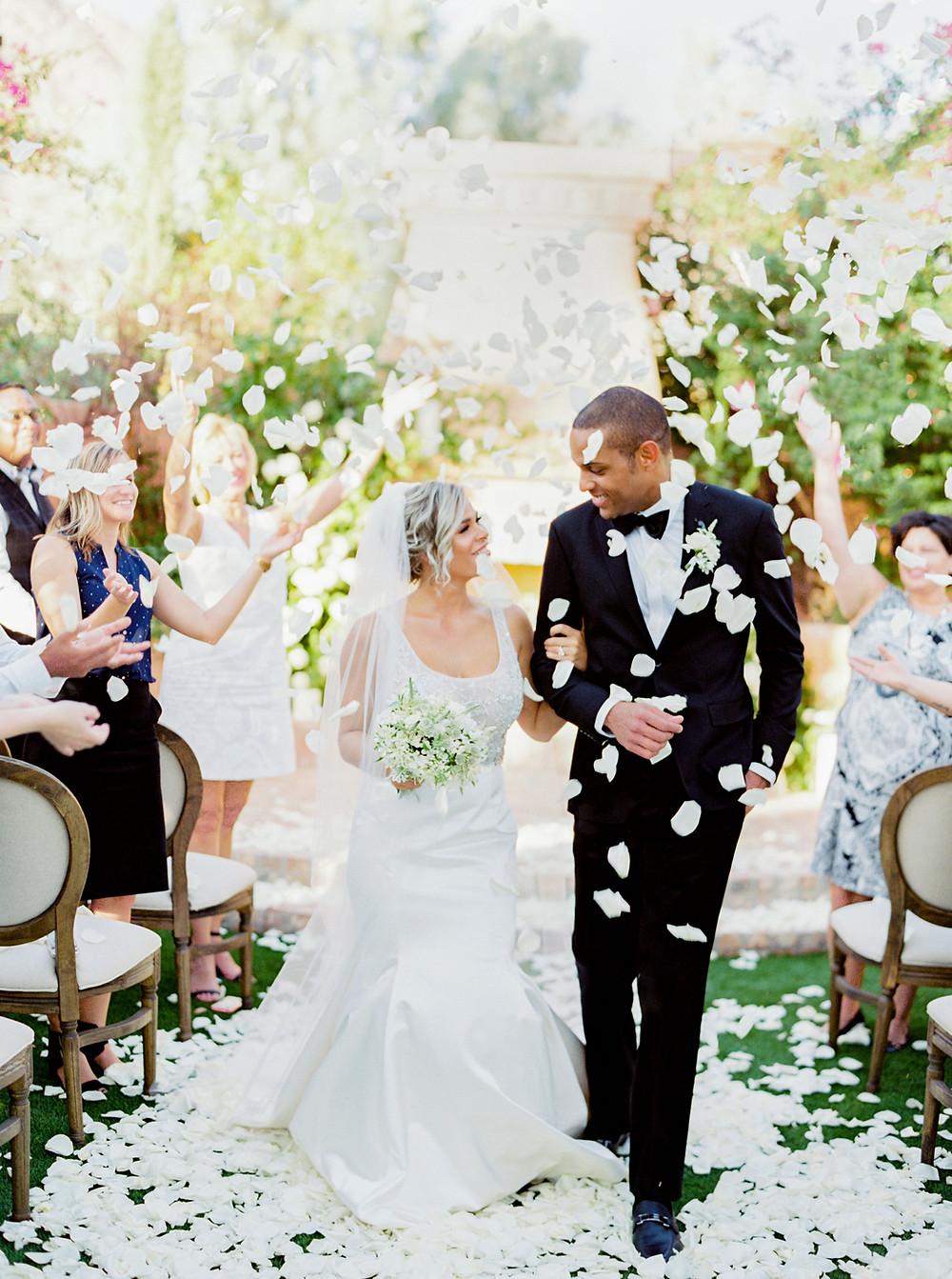 Royal Palms Wedding, Ceremony, Bride and Groom