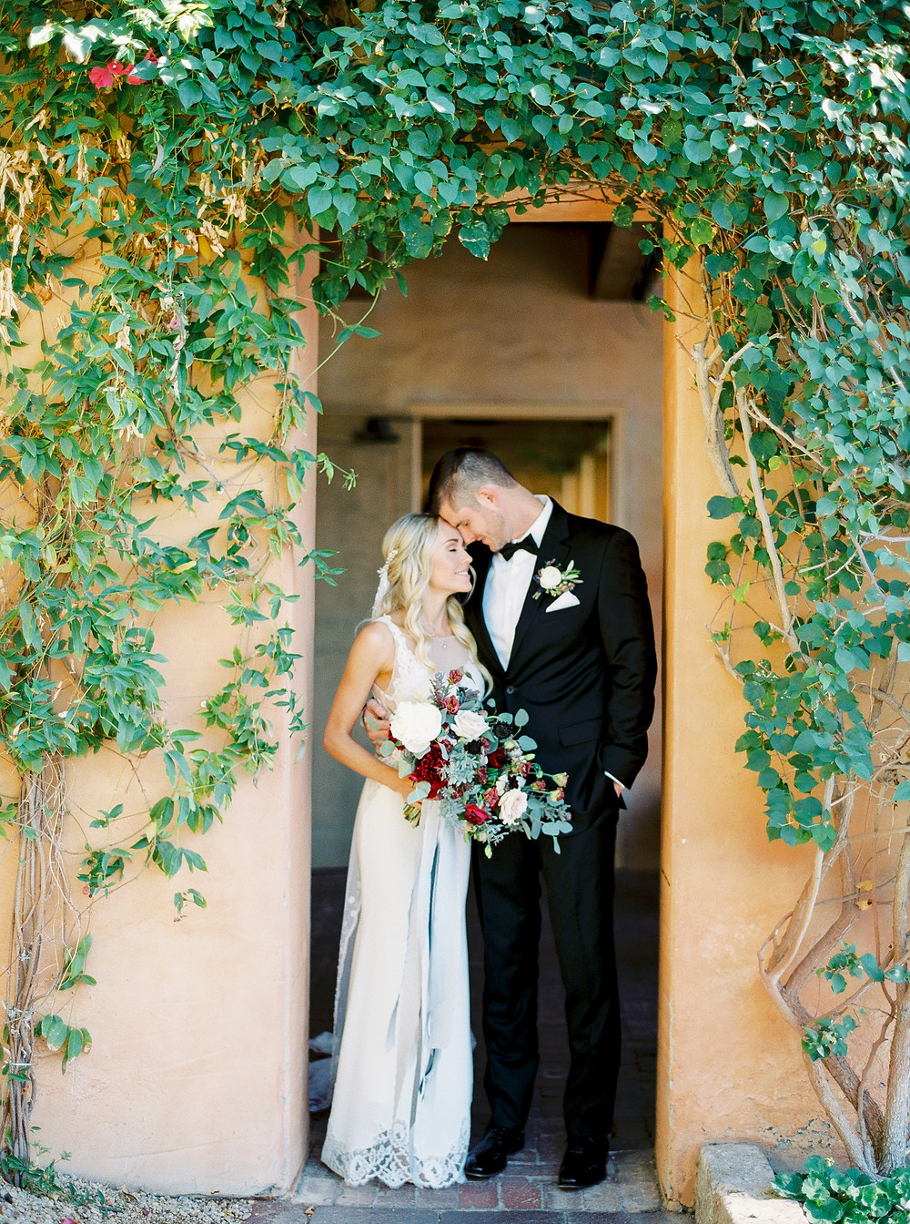 Royal Palms Wedding, Bride & Groom Portrait