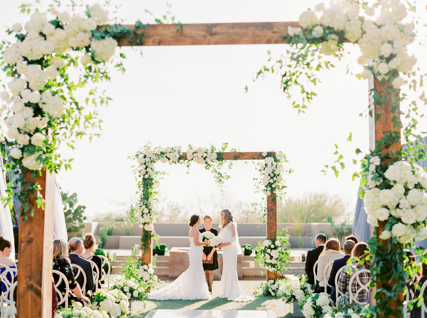 Four Seasons Same Sex Wedding | Scottsdale, AZ | Southwest Wedding Photographer