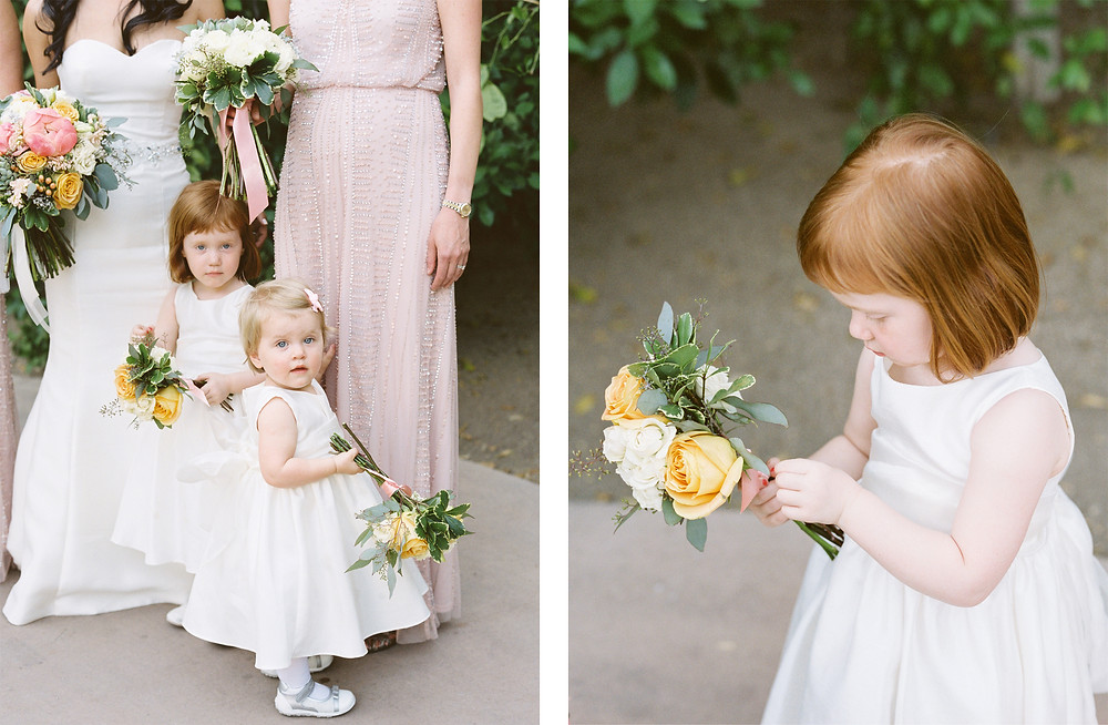 Ritz Carlton Dove Mountain Wedding, Bridal Party Portraits, Flower Girls