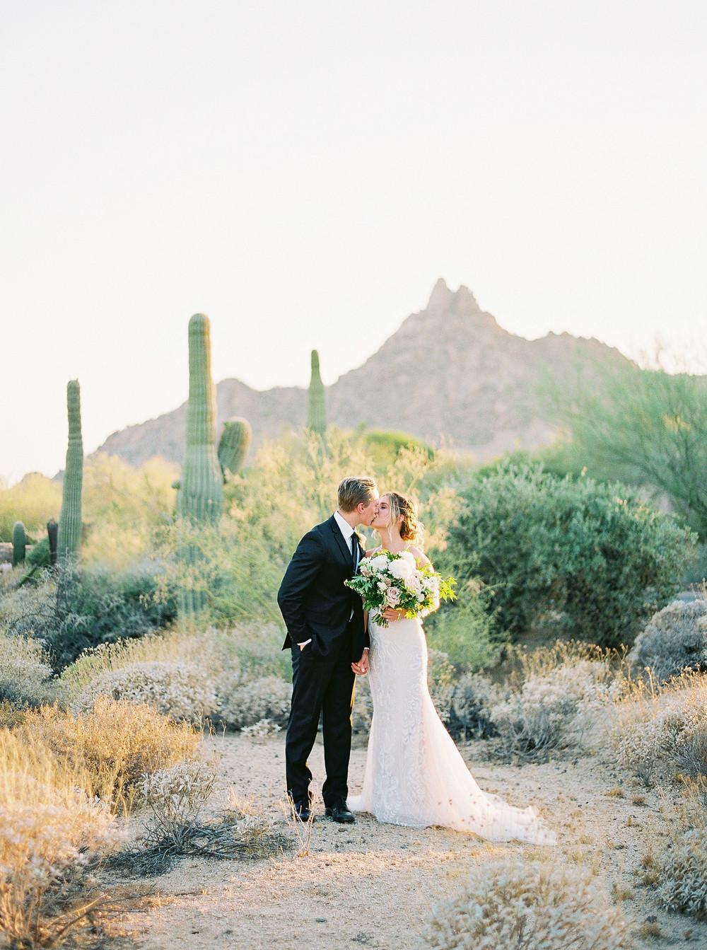 Four Seasons at Troon North in Scottsdale Arizona, Couple Portrait