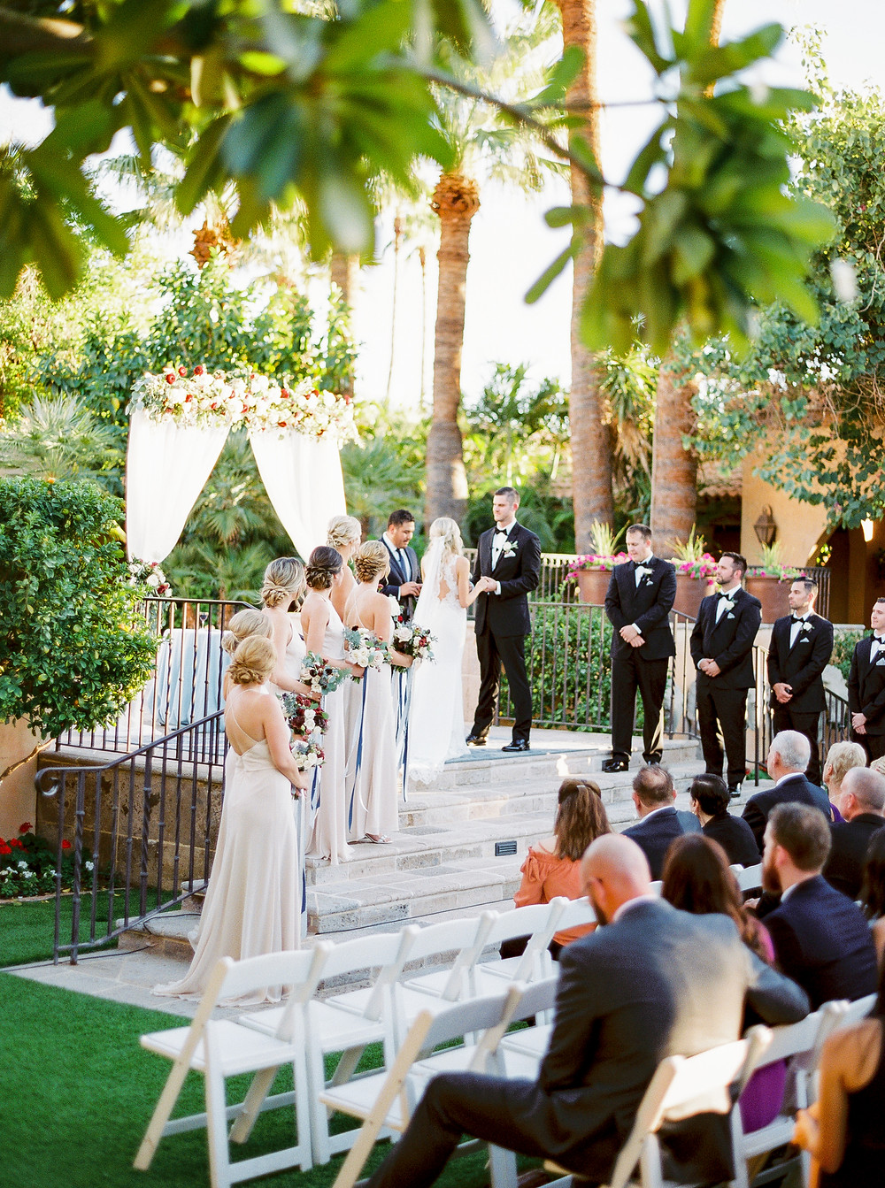 Royal Palms Wedding, Ceremony