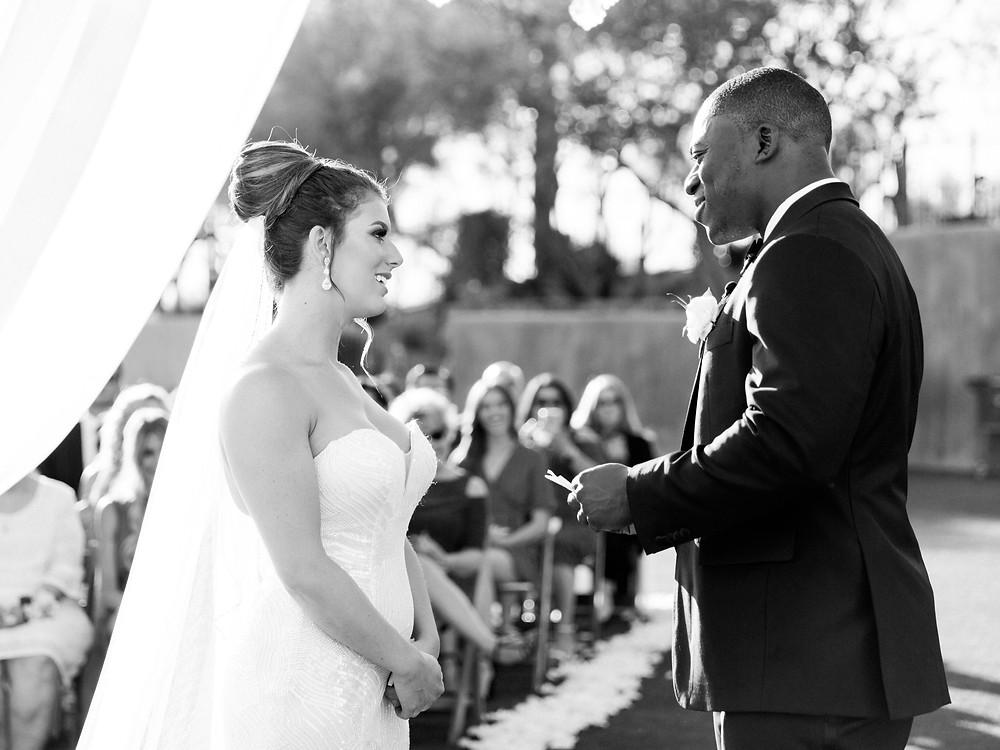 DC Ranch Wedding, Ceremony