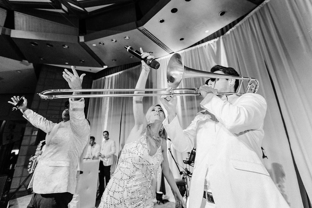 Arizona Biltmore Classic White Wedding, Reception