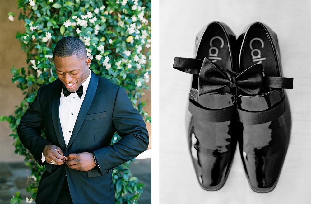 DC Ranch Wedding, Details, Groom Portrait
