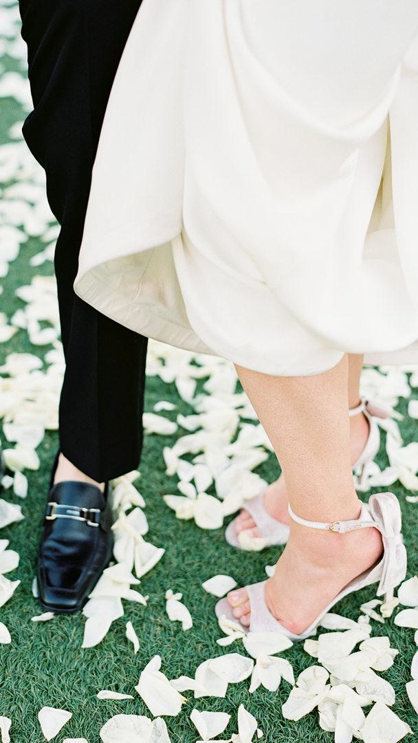 Four Seasons Blush Wedding