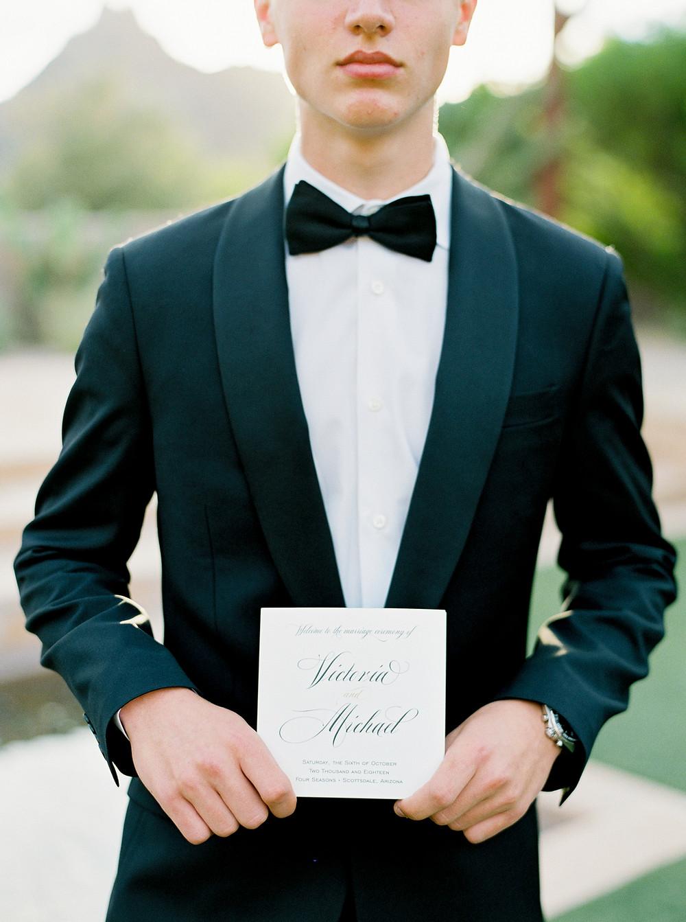wedding usher
