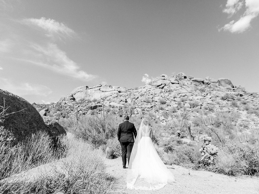 Four Seasons Scottsdale Bride and Groom