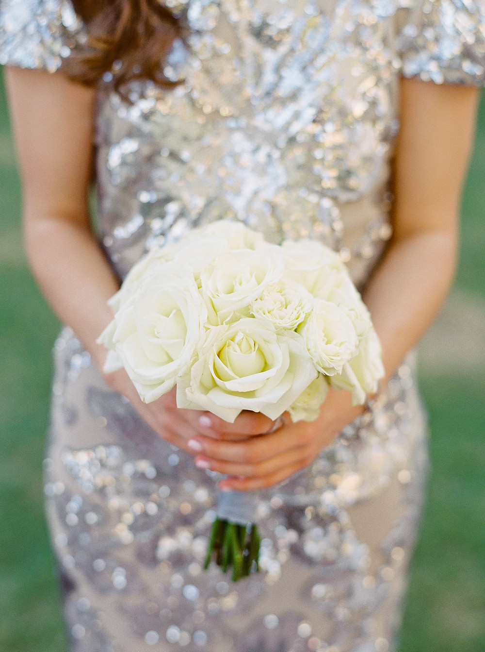 Arizona Biltmore Classic White Wedding, Bridesmaid Details