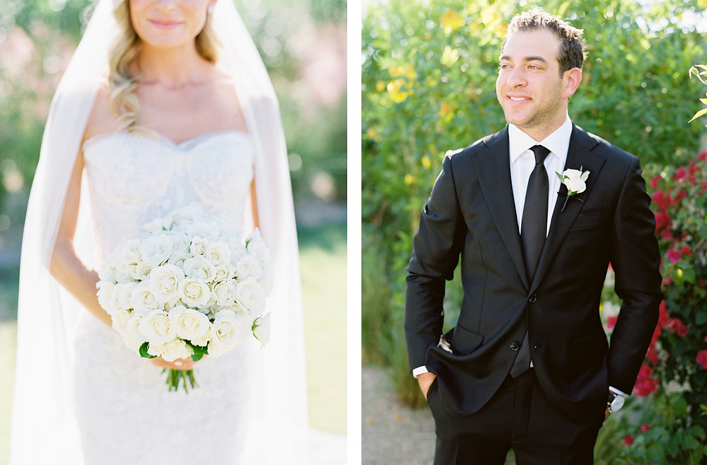 Andaz Scottsdale Wedding, Bride and Groom Portrait