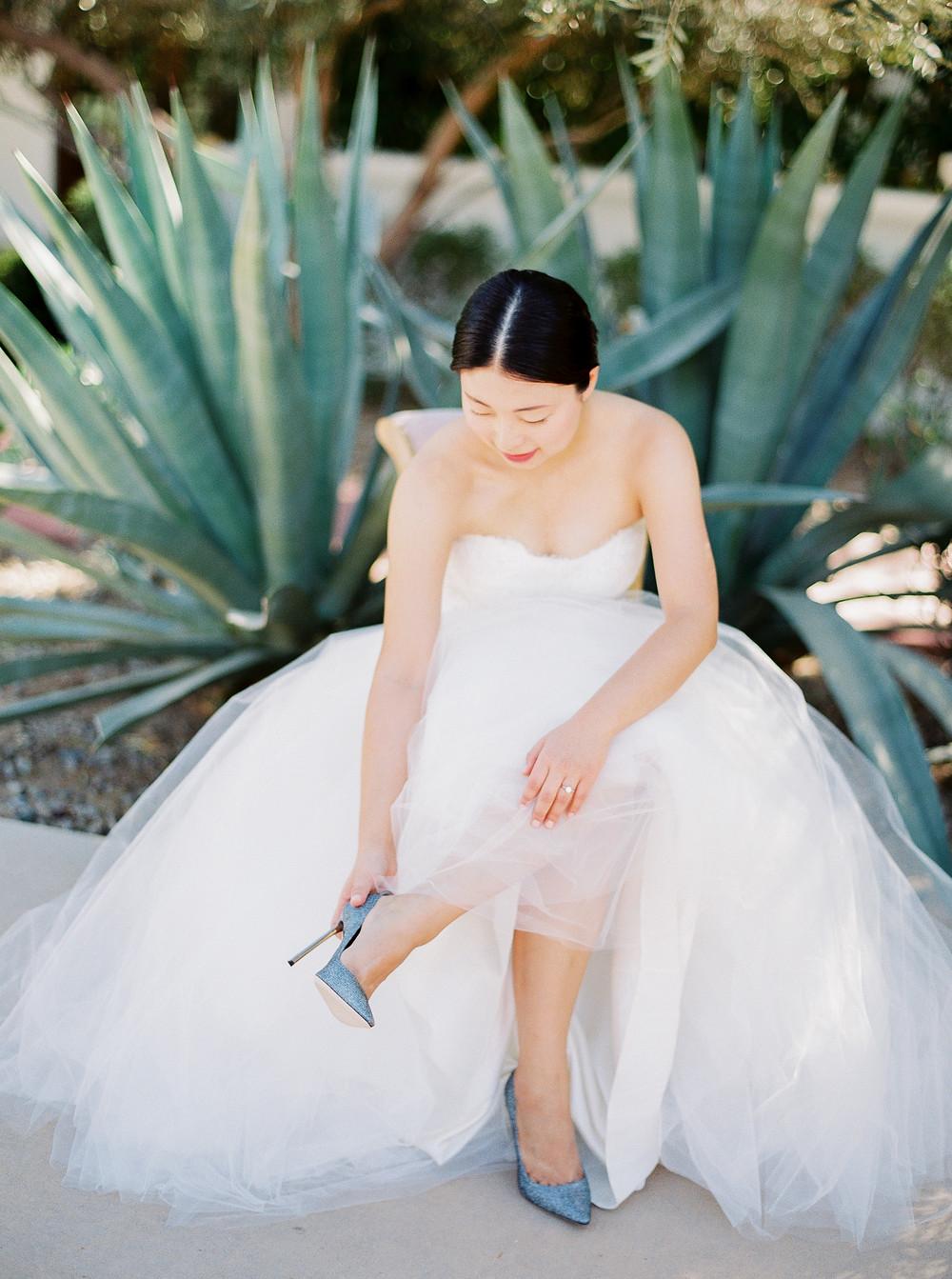 El Chorro Wedding, Traditional Chinese Wedding, Details, Moniique Lhuillier, Jimmy Choo