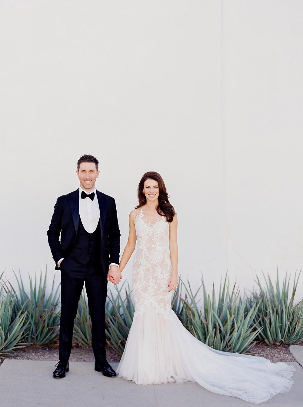 Tucson, Arizona Wedding, Couple Portrait