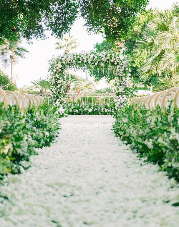 Glamorous Phoenician Wedding