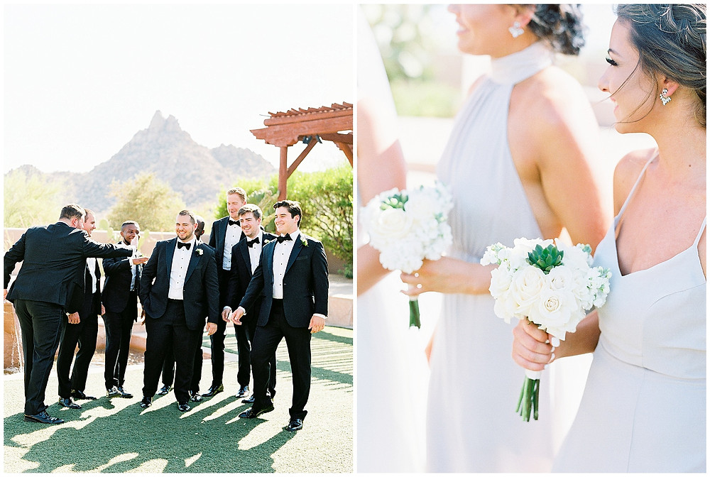 Four Seasons Scottsdale Wedding Party