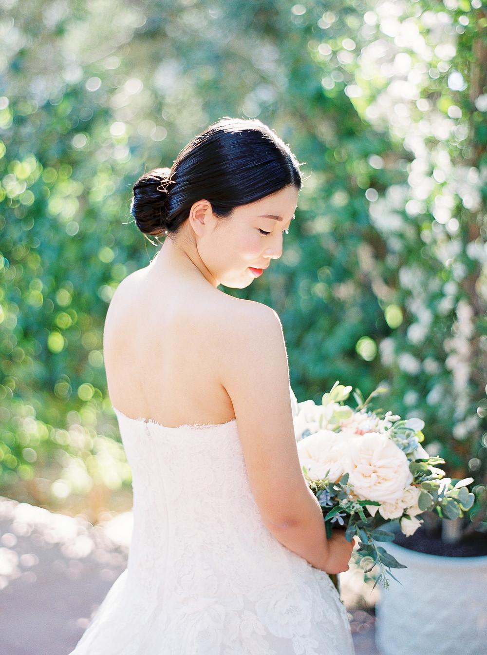 El Chorro Wedding, Traditional Chinese Wedding, Bride