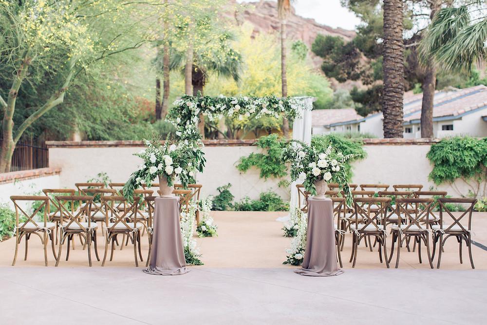 Montelucia Wedding, Ceremony Details