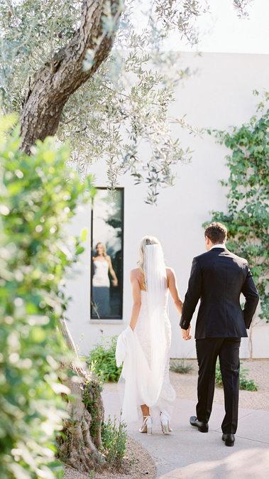 Elevated Modern Andaz Wedding