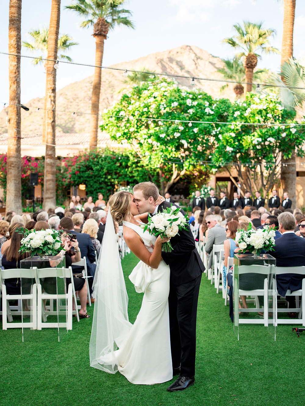 Royal Palms Wedding Ceremony | Scottsdale, AZ | Elyse Hall Wedding Photography
