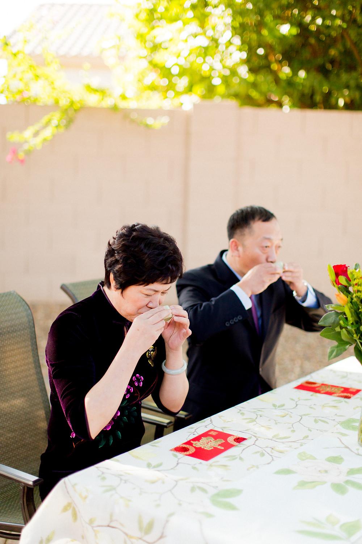 El Chorro Wedding, Traditional Chinese Wedding, Tea Ceremony