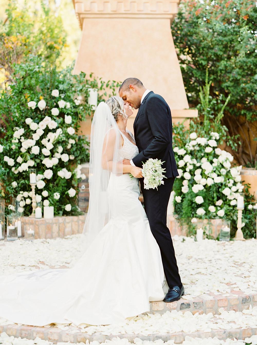 Royal Palms Wedding, Ceremony, Bride & Groom
