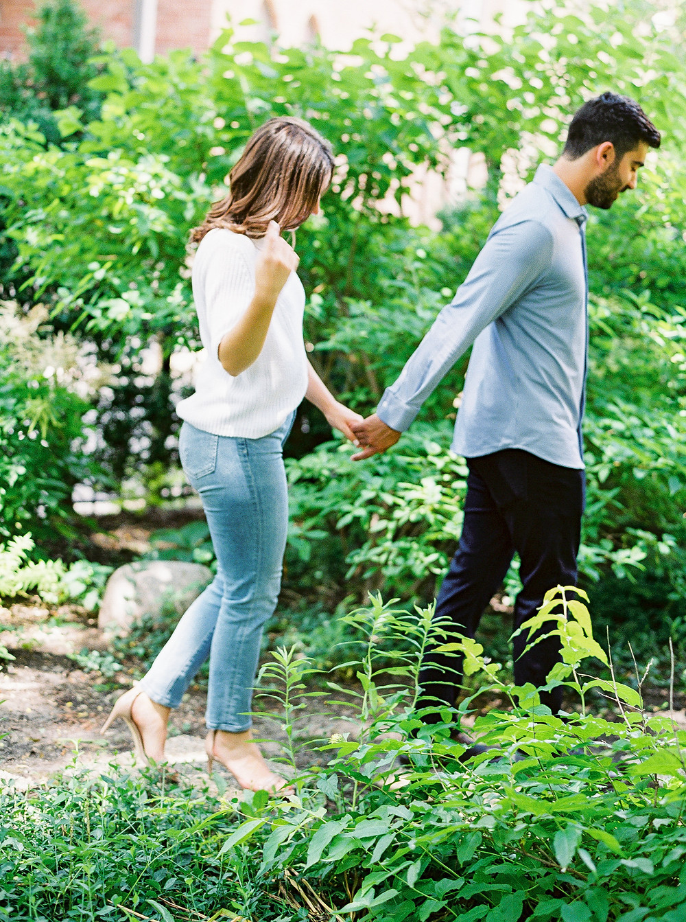 Chicago Engaged Couple