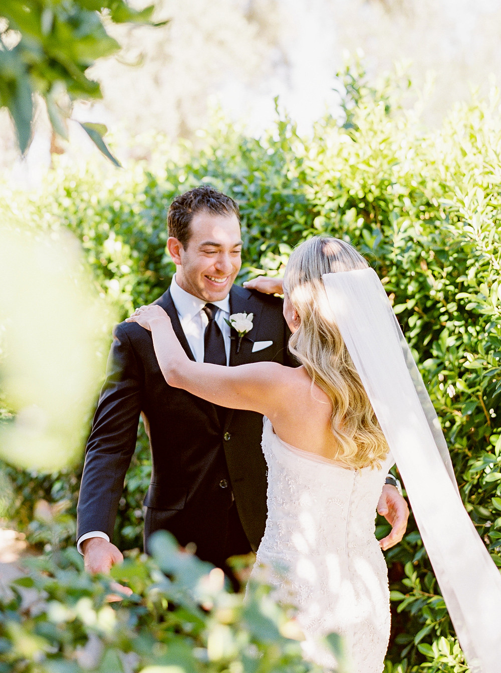 Andaz Scottsdale Wedding, Bride and Groom First Look