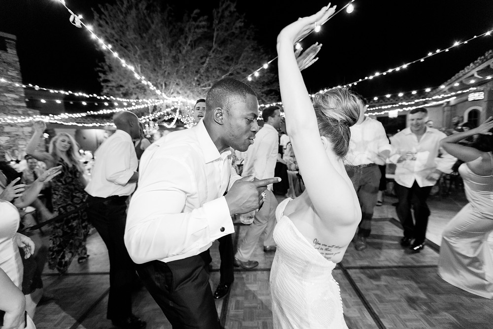 DC Ranch Wedding, Reception, Dancing