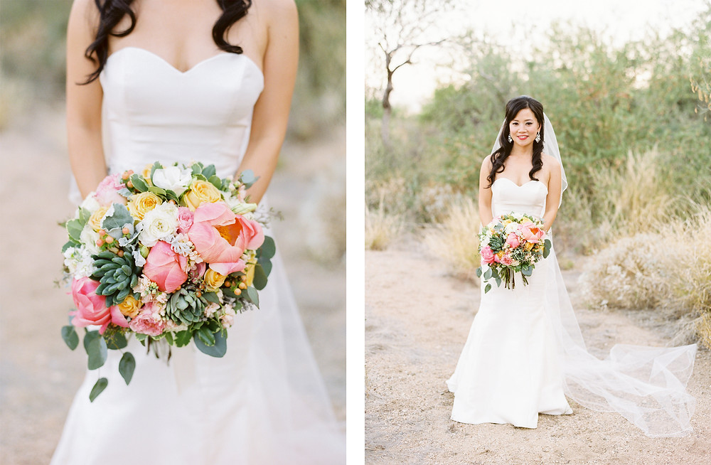 Ritz Carlton Dove Mountain Wedding, Bride Portraits