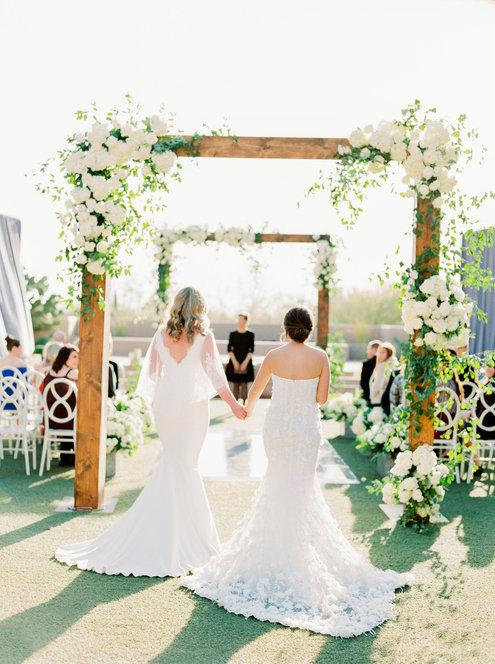 Four Seasons Same Sex Wedding | Scottsdale, AZ | Southwest Wedding Photographer