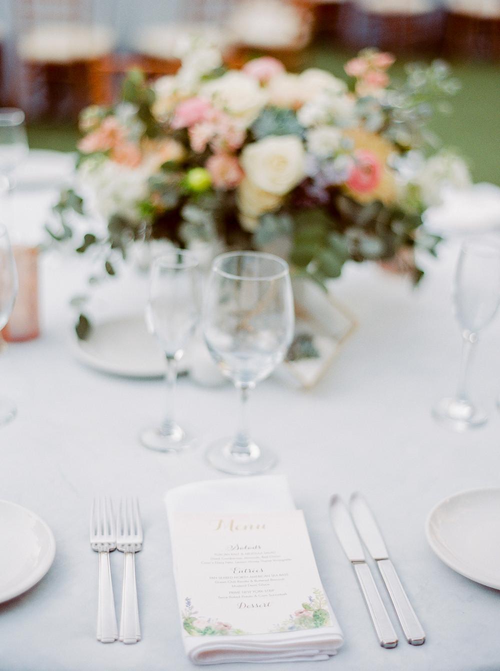 El Chorro Wedding, Traditional Chinese Wedding, Reception Details