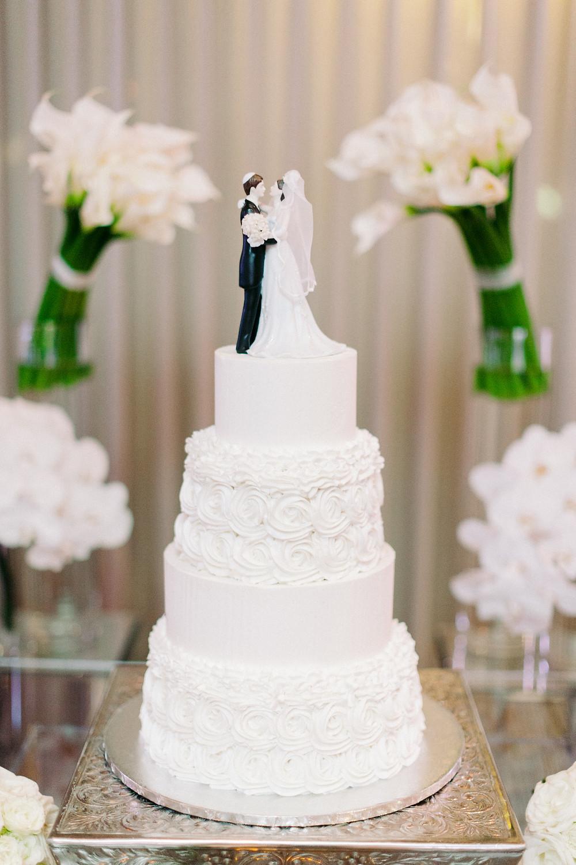 Arizona Biltmore Classic White Wedding, Reception Details, Wedding Cake